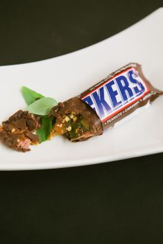 """""""Snickers"""" at The Future of Junk Food (photos by Brian Samuels)"""