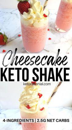Keto Breakfast Smoothie, Keto Smoothie Recipes, Low Carb Smoothies, Ketogenic Recipes, Keto Recipes, Pasta Recipes, Vegetarian Recipes, Casserole Recipes, Cabbage Recipes