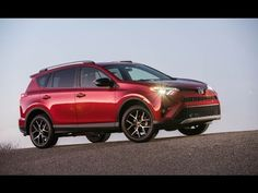 2016 Toyota RAV4 SE with a sport tuned suspension