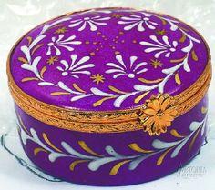 Antique Limoges Boxes -