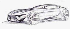 Maserati Alfieri concept sketch