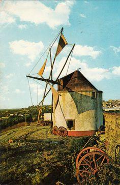 Carte postale ancienne PORTUGAL PALMELA moinho moulin timbrée 1980   eBay