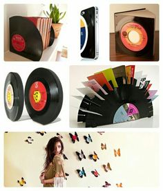 UpCycle Your old Records