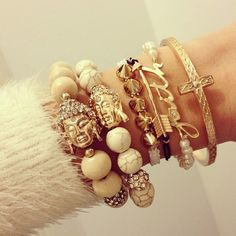 Arm party so lovely !