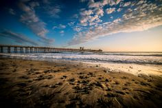 A Stock Photo Of The Oceanside Pier