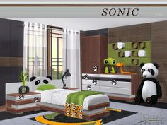Sims 4 CC's - The Best: Kidsroom by NynaeveDesigns