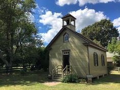 Hog Island one-room schoolhouse at Linchester Mill. #travel #TBIN #Maryland @visitmaryland Click the link in our profile for a wealth of information and stunning photos!