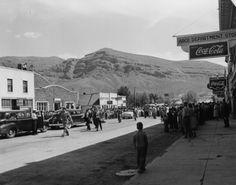 President Truman visiting Arco, Idaho