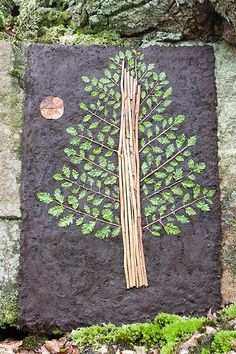 Richard Shilling's Land Art Blog. Use petals, make a tree, move it around and animate it into a movie