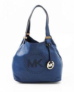 Michael Kors Genuine Leather Small Grab Bag
