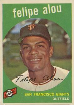 felipe%2Balou%2Bbaseball%2Bcard   1959 Topps Felipe Alou #102 Baseball Card