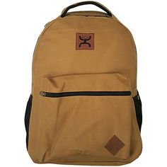 06688ff386d9 Hooey Original Canvas Laptop Backpack - Copper - Laptop Backpacks ( 40) ❤  liked on Polyvore featuring accessories