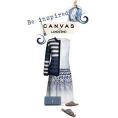 Paint Your Look With Canvas by Lands' End: Contest Entry