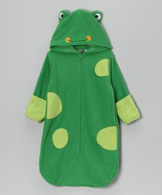 Little ones will adore slipping into this playful outfit. The enveloping warmth of the bunting silhouette keeps them cozy and calm, while the attached hood makes sure bitty noggins don't miss out on all the comfy fun.