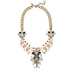 J.Crew Jewels Plates Necklace