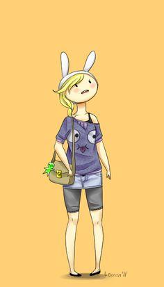 Adventure time fionna I love her shirt!!!!!!!