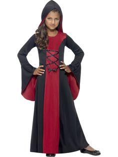 Vampyrkostyme Vamp – Halloween kostyme for barn