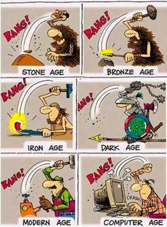 Funny photos funny evolution of man hitting stuff hammer Funny Baby Images, Funny Pictures For Kids, Funny Kids, Fun Funny, Funny Cartoons, Funny Comics, Funny Jokes, Pi Jokes, American Funny Videos