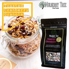 Mulberry Tree is a top quality granola manufacturer & suppliers in Australia. We are Also bulk muesli wholesale suppliers to cafes and Independent Grocers. Healthy Cereal, Healthy Breakfast Recipes, Muesli, Granola, Rich In Protein, Whole Food Recipes, Toast, Mulberry Tree, Gourmet