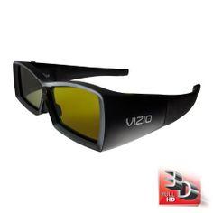 VIZIO VSG102 Full HD 3D Rechargeable Glasses  Black (2 Pack): http://www.amazon.com/VIZIO-VSG102-Rechargeable-Glasses-Black/dp/B0048BPDGI/?tag=eyepet-20
