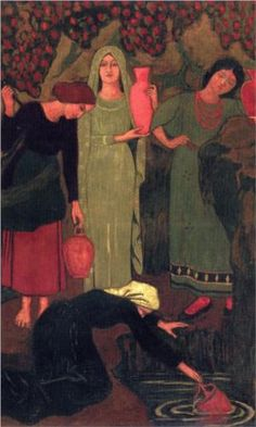 The Wait at the Well - Paul Serusier