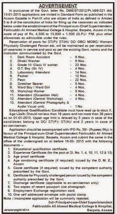 ESIC Recruitment 2015 For Insurance Medical Officer (450 posts ... on