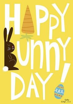 Happy Bunny Day | Flickr - Photo Sharing!  by Kelly Cottrell ( kelbug )