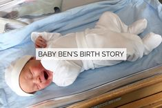 Baby Ben's Birth Story Water Birth, Natural Birth, About Me Blog, Delivery, How To Plan, Detail, Heart, Baby, Natural Parenting