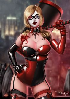 HQ is totally my #comicbook wifey <3 Harley Quinn 2014 by iurypadilha.deviantart.com on @deviantART