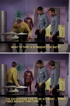 Star Trek TOS >>> made me laugh, not gonna lie. of course it is one of my all-time favorite movies. Star Wars, Star Trek Tos, Star Trek Meme, Stargate, Science Fiction, Zoolander, Star Trek Original, Starship Enterprise, Star Trek Universe