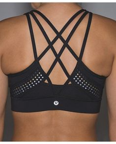 Strap It Like It's Hot Bra, sz 10, $54. ・designed for: run, yoga, gym ・fabric(s): Luxtreme®, Mesh ・support: this bra is intended to provide medium support for a C/D cup