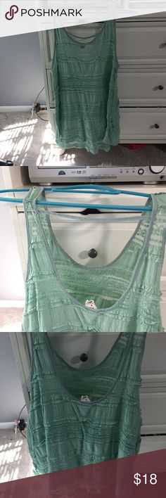 Urban tank slip UO tank slip dress. See through material- I wore as a beach coverup or can be worn with a bralette and bottoms. Worn only a couple of times Urban Outfitters Dresses Mini