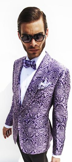 To much for a blazer but I love the pattern