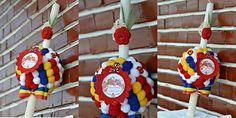 Baby baptism candle Baptism Candle, Baby Baptism, Diy Crochet, Candles, Christmas Ornaments, Holiday Decor, Handmade, Home Decor, Xmas Ornaments