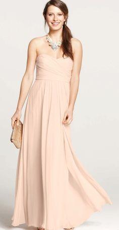 Stunning strapless dress by Ann Taylor