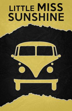 Little Miss Sunshine (2006) ~ Minimal Movie Poster by Begum Ozdemir #amusementphile
