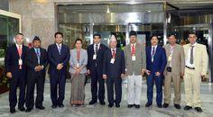 제5차 백두산위인칭송국제축전에 참가할 네팔국회대표단 도착