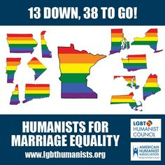 States with Marriage Equality in May 2013. Only 38 more to go!