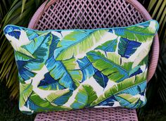 Sway - tropical delight for outdoor entertainment areas. Cushions, Pillows, Outdoor Entertaining, Indoor Outdoor, Diaper Bag, Tropical, Entertainment, Etsy, Throw Pillows