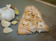 AIP Ginger Garlic Salmon
