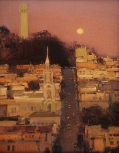 Brian Blood This is Coit Tower in San Francisco. I lived across from the church one year. Love that city!