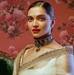 Bollywood actress Deepika padukone in Sabyasachi saree Indian Celebrities, Bollywood Celebrities, Bollywood Fashion, Bollywood Actress, Bollywood Stars, Bollywood Bridal, Celebrities Fashion, Saris, Deepika Padukone Saree