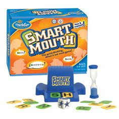 One of our All-Time favs! A great combination of Cognitive Processing Speed and word skills! There are sooooo many ways to modify Smart Mouth!