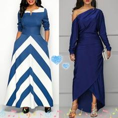 Two Elegant Which one prefer? Have a good day. African Dress, Elegant Dresses, Wrap Dress, Day, Womens Fashion, Clothes, Instagram, Outfits, Stylish Dresses