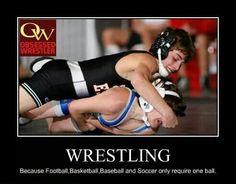 Love wrestling