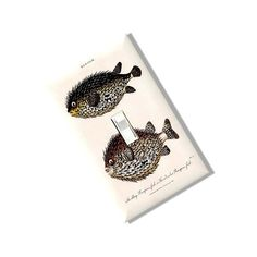 Antique Porcupine Fish Light Switch Cover Plate Homemade Multi Toggle Kitchen Dining  Home Decor Houseware