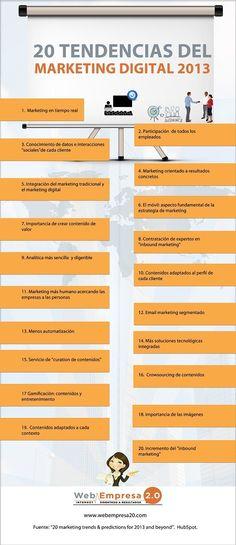 Tendencias 2013 - Redes sociales y marketing digital