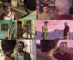 """""""Then you came barreling into my life."""" Victor Sullivan. Nathan Drake. Uncharted 3. Play it."""