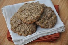 The Whole Life Nutrition Kitchen: Gluten-Free, Vegan Pumpkin Oatmeal Cookies