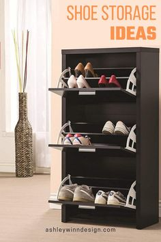 Capri Transitional Black Shoe Rack(Wood)You can find Coaster furniture and more on our website. Under Bed Shoe Storage, Shoe Storage Cabinet, Shoe Drawer, Shoe Cubby, Storage Drawers, Black Shoe Rack, Rack Pallet, Stackable Shoe Rack, Shoe Storage Solutions